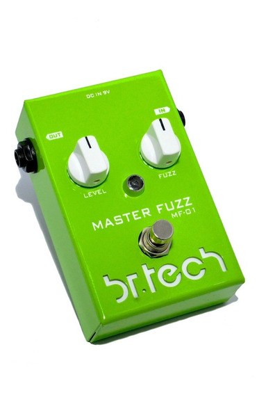 Pedal Fuzz Overdrive Br Tech = Fuzz Face - True By Pass-novo