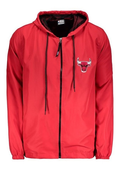 Jaqueta Nba Chicago Bulls Resicolor Vermelha