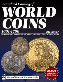 Catalogo De Monedas World Coins 1601-1700 5th Edition