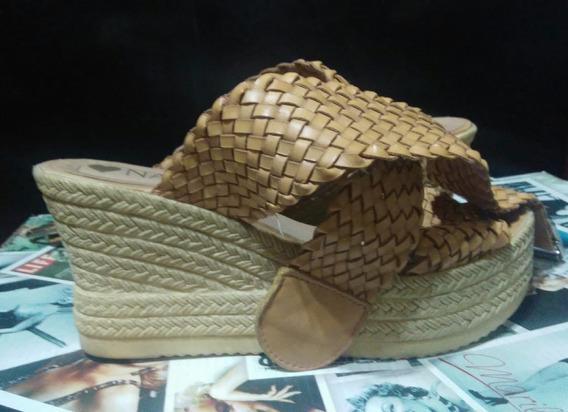 Sandalias Con Plataformas De Mujer
