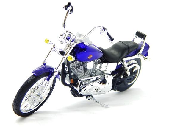 Maisto Harley Davidson Série 34 1/18 6 Mod - 3136034 - 01 Fx