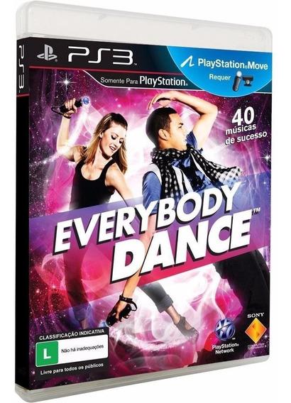 Everybody Dance 1 Ps3 | Mídia Física Original