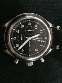 Relógio Masculino Fossil - Pulseira Couro Usado Mod Jr1440