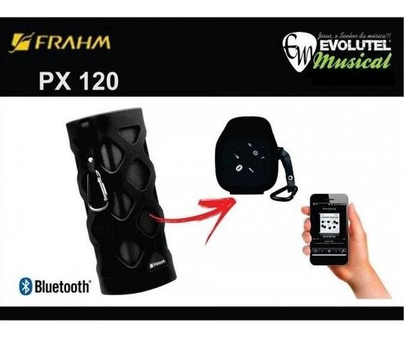 Caixa De Som Bluetooth Frahm Px-120 P/ Celular/ Tablet/ Note