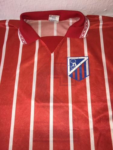 Camisa Do Atlético De Madrid Da Espanha Retro