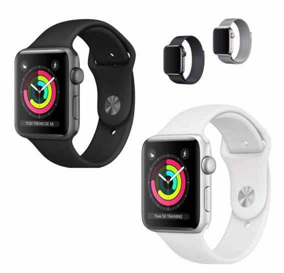 Apple Watch Série 3 42mm Gps + Pulseira Milanese