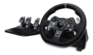 Volante De Carreras + Pedales Xbox One Pc Mac Logitech G920
