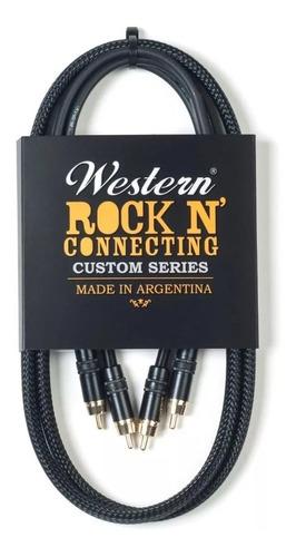 Western Cable Rock N Connecting Rca-rca Mallado 3m