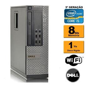 Cpu Dell Mini Optiplex 7010 Sff I5 3ª Ger 8gb 1tb Rw Wi-fi