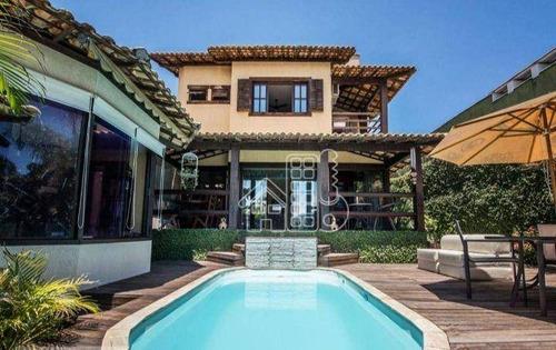Imagem 1 de 19 de Casa Com 3 Dormitórios À Venda, 280 M² Por R$ 1.400.000,00 - Camboinhas - Niterói/rj - Ca1455