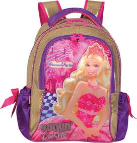 Mochila Escolar Barbie A Princesa E A Pop Star Sestini Un