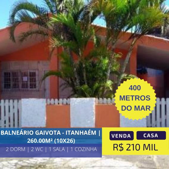 Linda Casa À 400 Metros Do Mar Em Itanhaém Litoral Sul De Sp