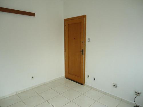 Apartamento Com 2 Dormitórios À Venda, 75 M² Por R$ 290.000,00 - Gonzaga - Santos/sp - Ap5888