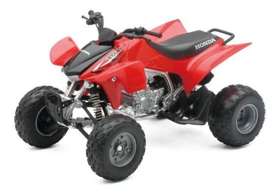 Cuatriciclo Honda Trx 450 R Escala 1:12 New Ray Rojo