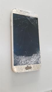 Celular Samsung S6 G 920 Touch E Display Quebrado Os 001