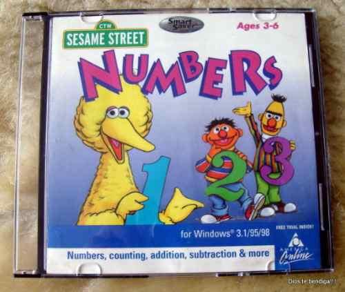 Sesamo Street Aprende Matematicas En Ingles Pc
