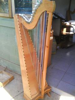Arpa 36 Cuerdas Oregon Nueva Fabricacion Artesanal $550000
