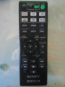 Controle Remoto Home Theater Sony Rm-adu 101