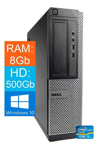 Imagem 1 de 3 de Desktop Dell Optiplex 7010 Core-i5 3470 8gb Hd 500gb Win10