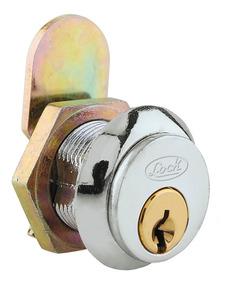 Cerradura P/mueble L050 Paleta Cromo Brillante L050pcbb Lock