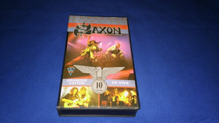 Saxon -greatest Hits Live! (vhs) 1992