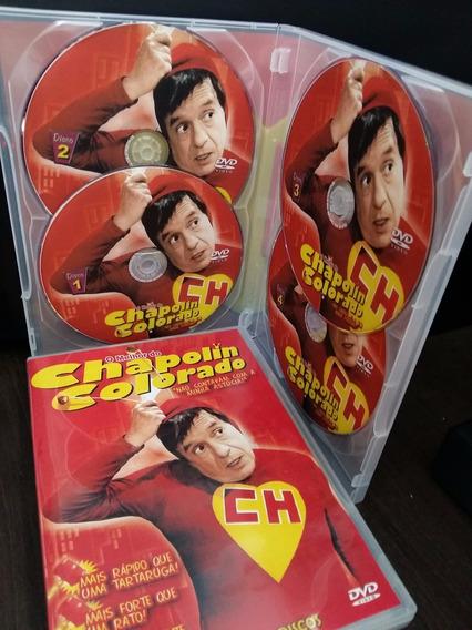 Dvd Chapolin Colorado Coletãnea Em 8 Dvds