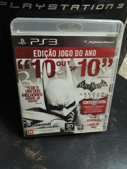 Jogos Ps3 Barato/ Batman/ Midia Física