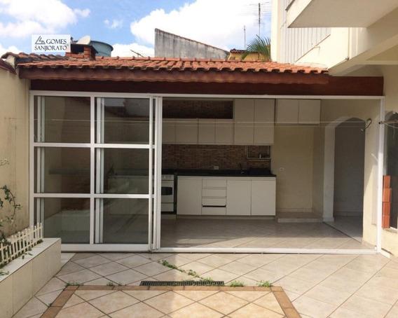 Casa A Venda No Bairro Vila Curuçá Em Santo André - Sp. 3 Banheiros, 5 Dormitórios, 2 Suítes, 4 Vagas Na Garagem, 1 Cozinha, Copa, Lavabo, Sala De Jantar. - 1549 - 1549 - 34725281