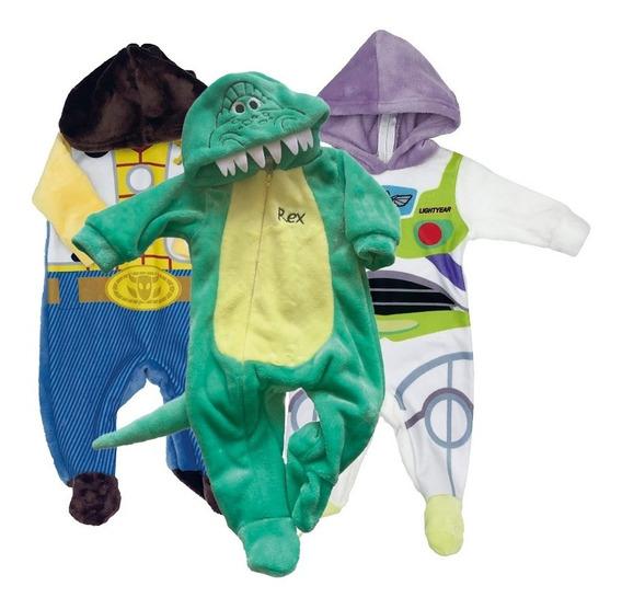 Kit 3 Mamelucos Disney Woody, Rex, Buzz A Precio De 2