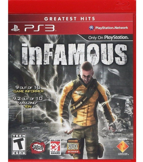 Game - Infamous - Ps3