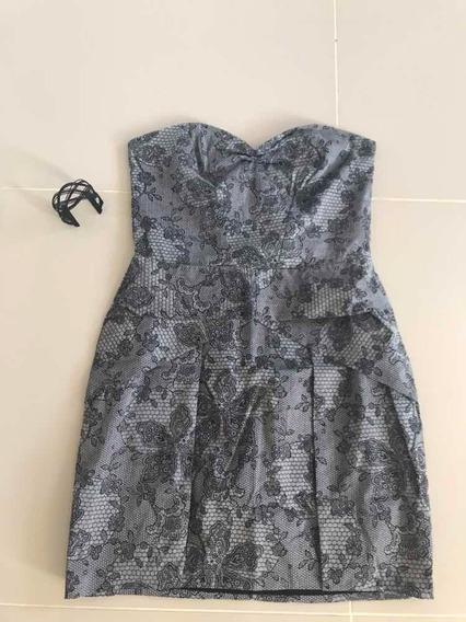 Vestido Tomara Que Caia Em Tecido Dress To Tamanho M