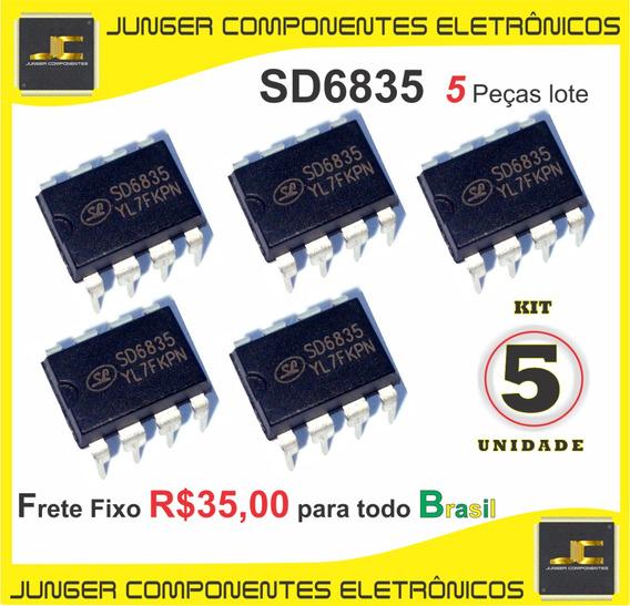 Sd6835 - Sd 6835 - 6835 - Dip8 - 5 Peças Lote