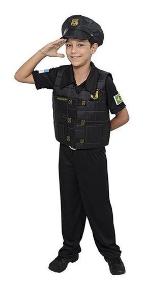 Fantasia De Policial Masculino Infantil