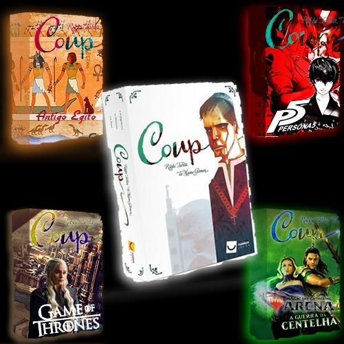 Kit Coup Pdfs (jogos Para Imprimir)