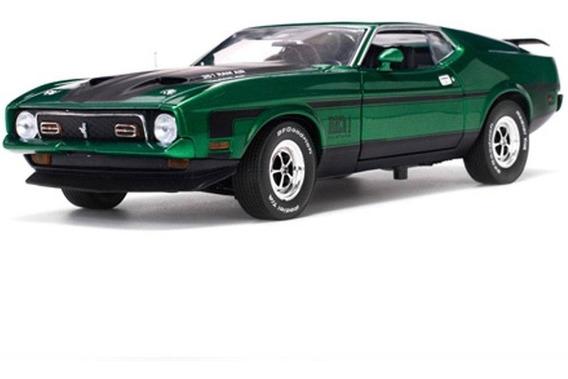 Miniatura Carro Sun Star Ford Mustang Mach I G 1971 Escala 1