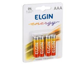 400 Pilha Zinco-carvão Aaa Elgin Blister 1.5v