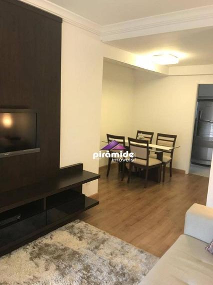Apartamento Com 2 Dormitórios À Venda, 62 M² Por R$ 420.000 - Jardim Aquarius - São José Dos Campos/sp - Ap11080