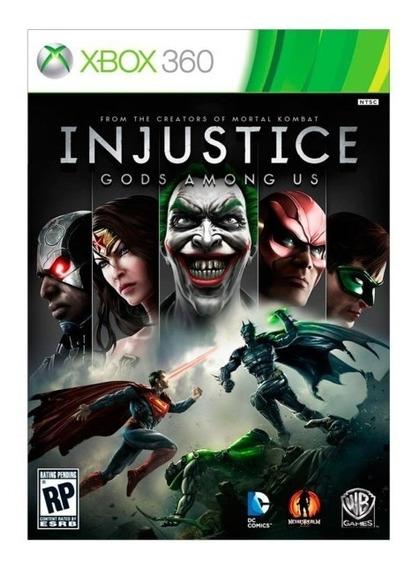 Injustice Xbox 360 - Midia Digital