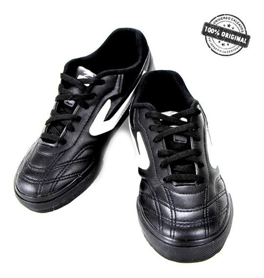 Chuteira Topper Dominator Futsal Infantil Juvenil - 4138545