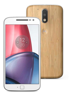 Celular Moto G4 Plus 32gb Dual Chip Edição Especial Bambu