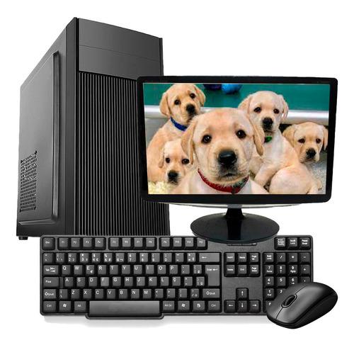 Imagem 1 de 6 de Computador Pc Completo I5 4gb Ssd 240gb Monitor