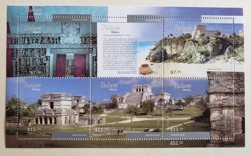 Imagen 1 de 1 de México 2012 : Ruinas De Tulum , Arqueología , Unesco