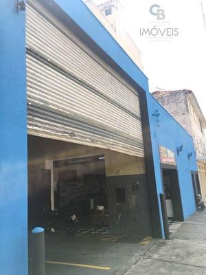 Galpão Comercial Para Locação, Mooca, São Paulo. - Ga0075