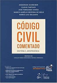 Código Civil Comentado 1ª Edição, Flavio Tartuce