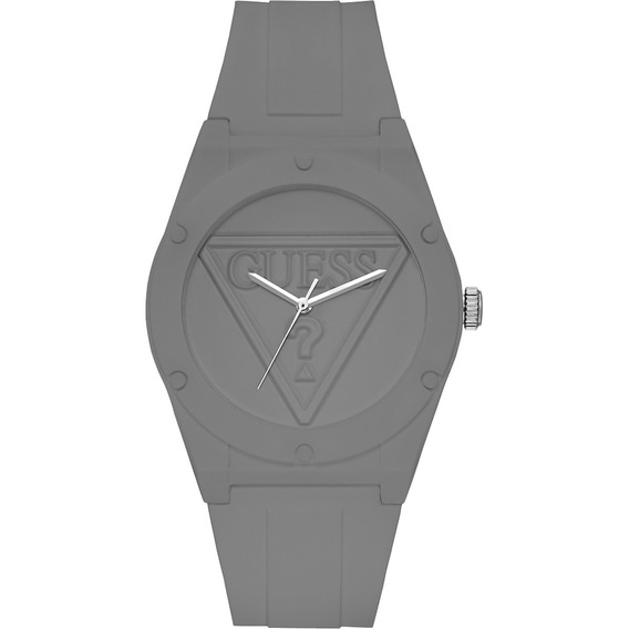 Relógio Guess Retro Pop Silicone Cinza W0979l7 U0979l7