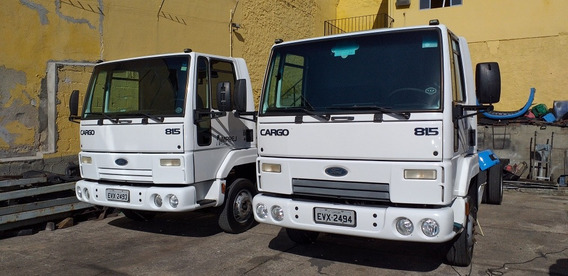 Ford Cargo 815 No Chassis Doc Cabina Suplementar