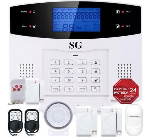 Imagen 1 de 10 de Alarma Dual Kit Gsm Telefono Inalambrica Alerta App Control Celular Seguridad Sensores Sistema Vecinal Casa Negocio