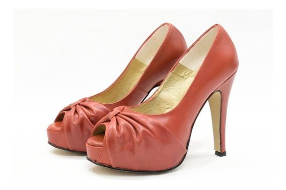 Zapato Taco Fino Plataforma Mujer Moda Zapato 2019 Art 900