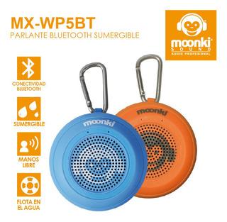Parlante Moonki Mx-wp5b5 Flota Agua Bt Ipx7