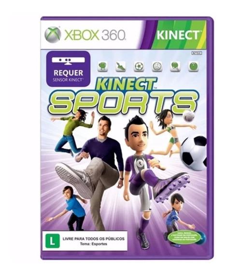 02 Jogos: Kinect Sports + Força Horizon Xbox360 Mídiasfísica